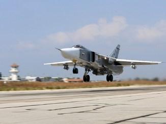 مقاتلة سو-24 في سوريا