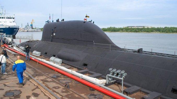 """الغواصة الروسية """"ياسن-أم"""""""