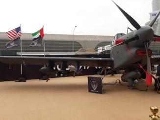 طائرة Archangel في معرض آيدكس (صورة خاصة)