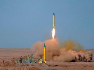 تجربة صاروخية إيرانية