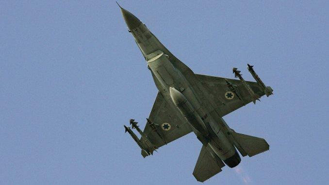 مقاتلة إسرائيلية من نوع أف-16