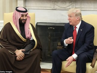 وزير الدفاع السعودي والرئيس الأميركي