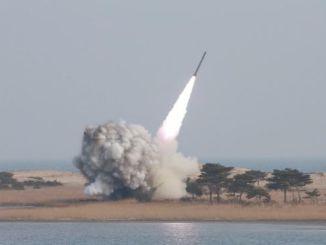 تجارب إطلاق صواريخ في كوريا الشمالية