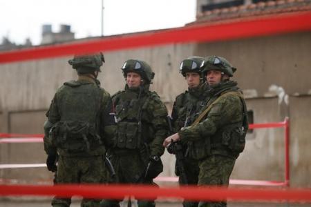 جنود روس في سوريا