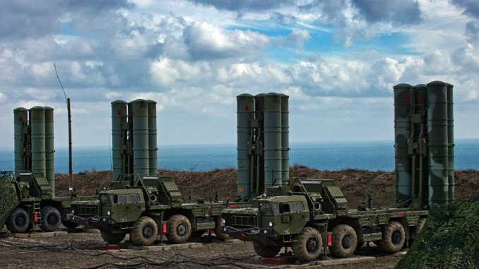 منظومة إس-400 للدفاع الجوي