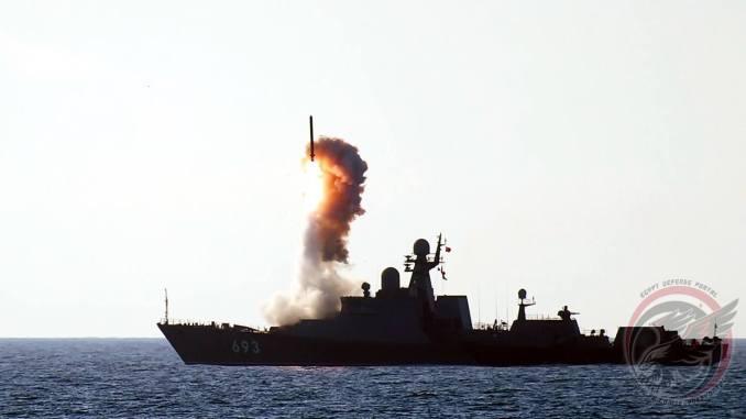 مناورات بحرية روسية