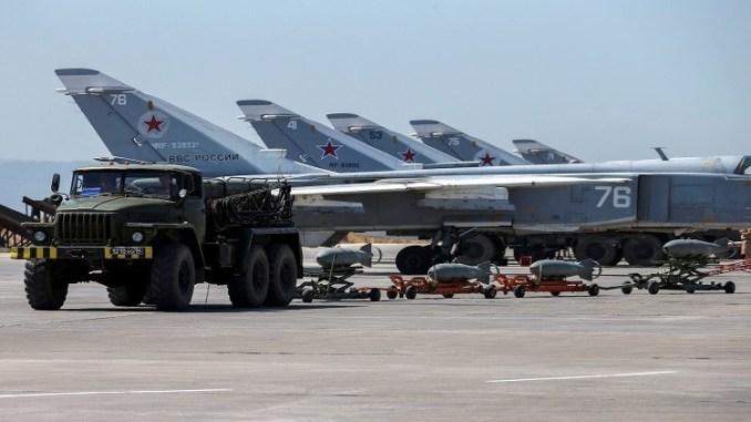 مقاتلات عسكرية روسية