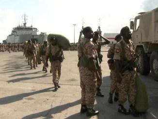 لقطة لعناصر القوات المسلحة السودانية