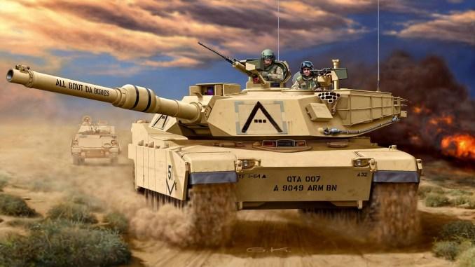 دبابة M1A2 Abrams