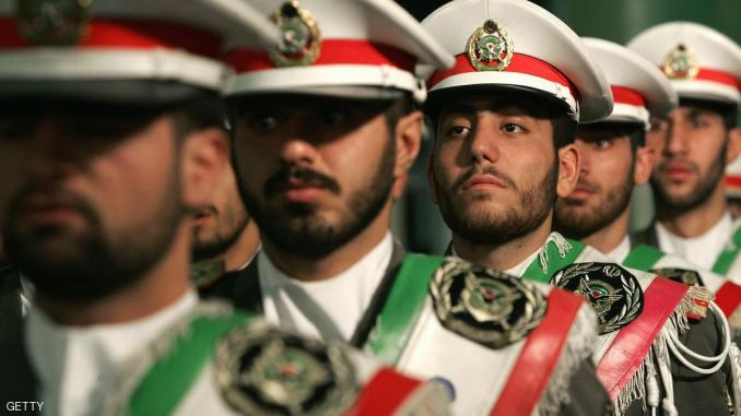 عناصر من الحرس الثوري الإيراني