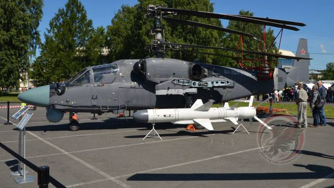 صاروخ Kh-35UE الذي سيزوّد على مروحية Ka-52K