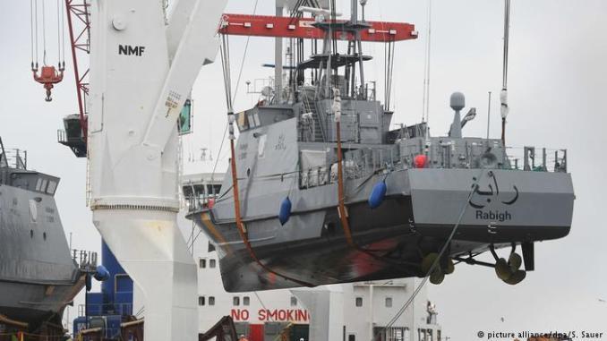 سفينة حربية من إنتاج ألمانيا