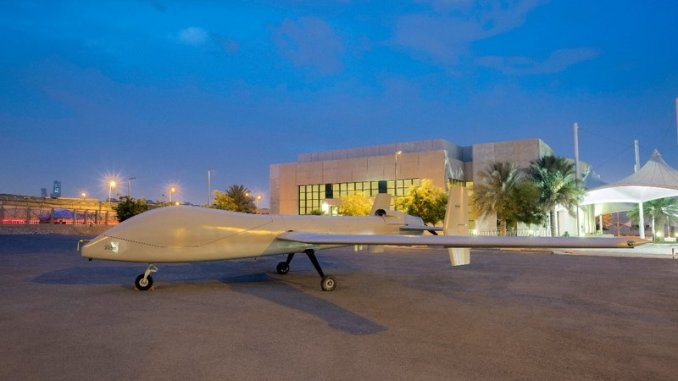 طائرة صقر1 من دون طيار السعودية
