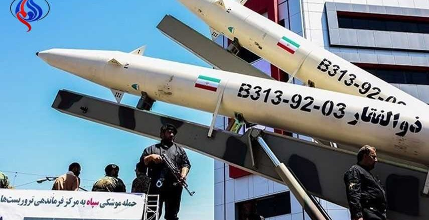 """صواريخ """"ذو الفقار"""" الإيرانية"""
