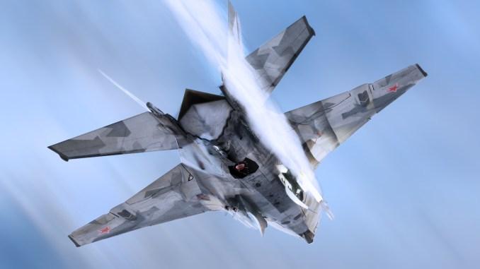 نموذج عن مقاتلة ميغ-41 الروسية