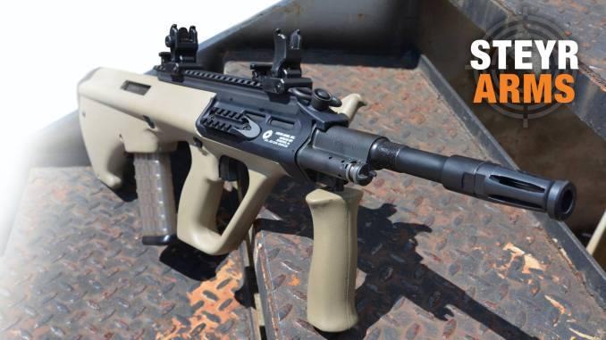 بندقية الاقتحام النمساوية Steyr AUG 