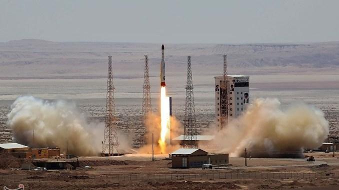 عملية إطلاق إيران الأخيرة للصاروخ