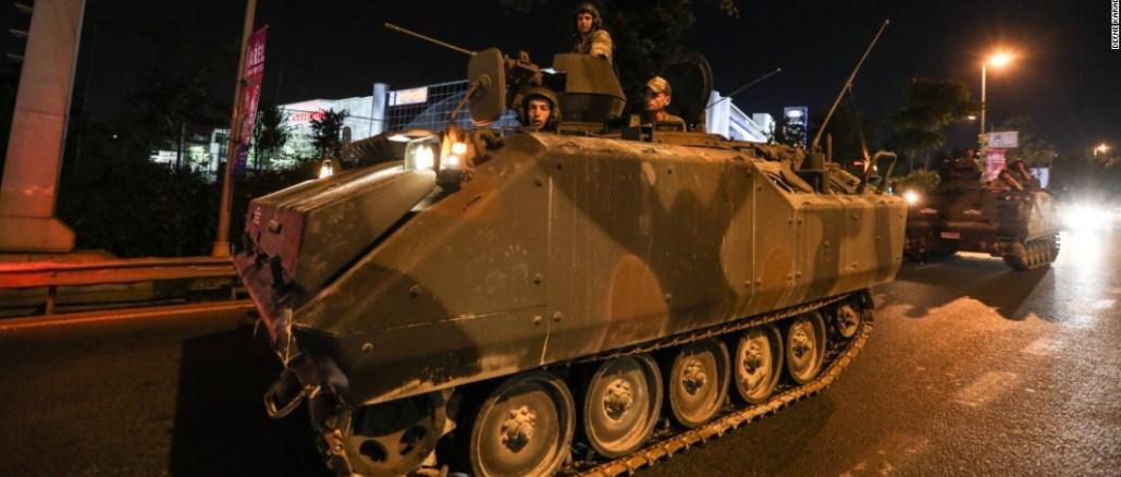 الإنقلاب العسكري التركي