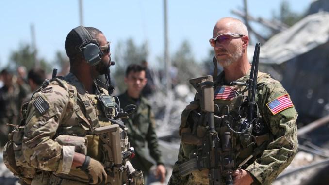 عناصر من القوات الأميركية في سوريا