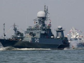 سفن الأسطول البحري الروسي