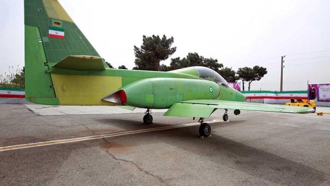 """طائرة التدريب الإيرانية """"كوثر"""""""