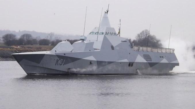كورفيت Visby K31