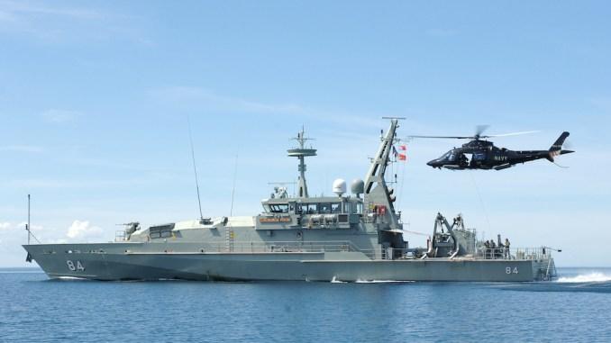سفينة HMAS Larrakia التابعة للبحرية الأسترالية