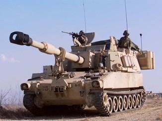 نظام هاويتزر من طراز M109A6 Paladin