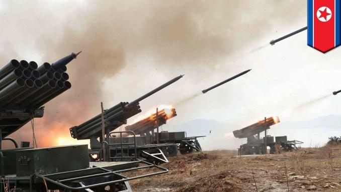 لقطة لمنظومات صواريخ كورية شمالية