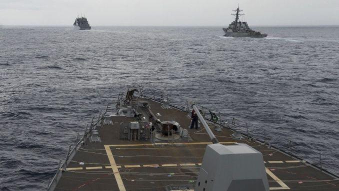 سفن حربية أميركية