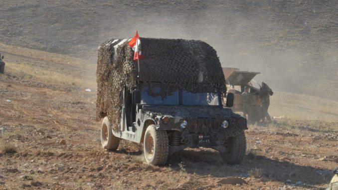 عملية الجيش اللبناني فجر الجرود