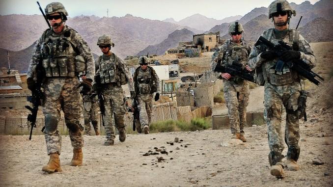 الوجود العسكري الأميركي في أفغانستان