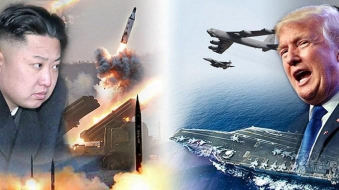 مواجهة أميركا وكوريا الشمالية