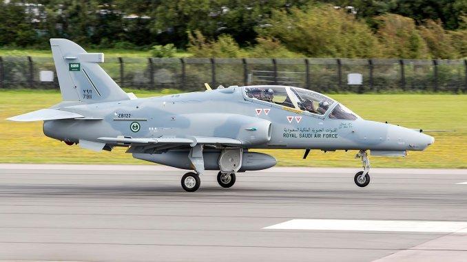 طائرة Hawk 165 سعودية