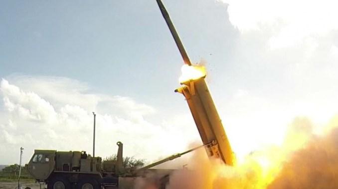 منظومة الدفاع الصاروخي ثاد