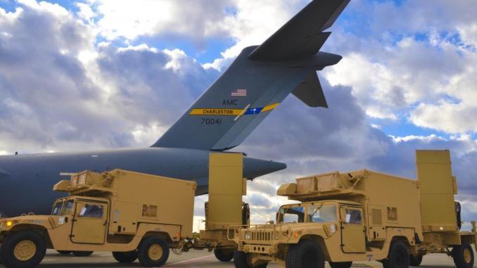 رادارات أميركية من نوع Q-36