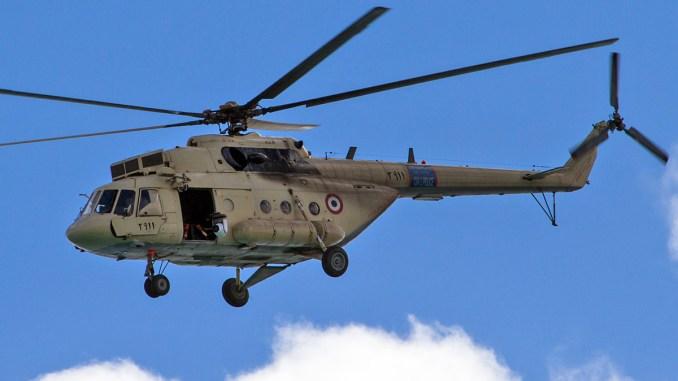 مروحية مي-17 تابعة لسلاح الجو المصري
