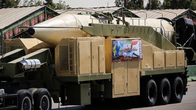 """صاروخ """"خرمشهر"""" الإيراني"""