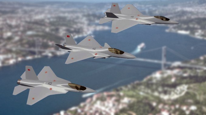 مقاتلات TF-X تركية