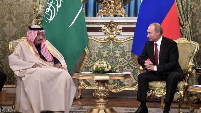 الرئيس الروسي والعاهل السعودي
