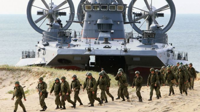 عناصر من الجيش الروسي