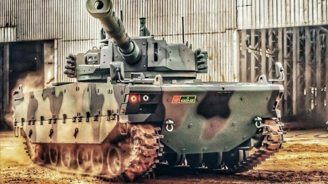 """دبابة """"النمر"""" التركية"""