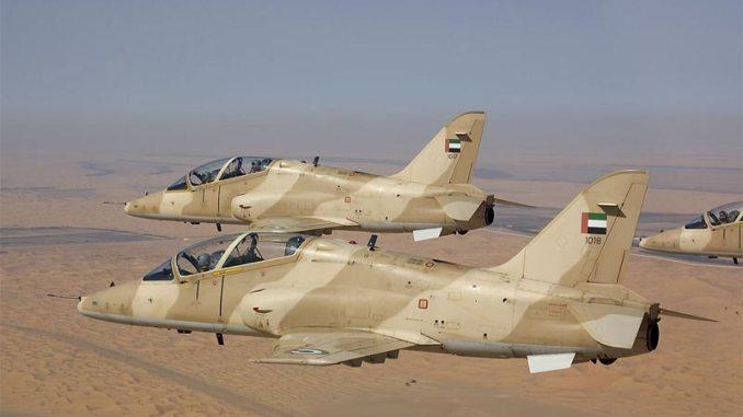 طائرتا هوك تابعتان للقوات الجوية الإماراتية