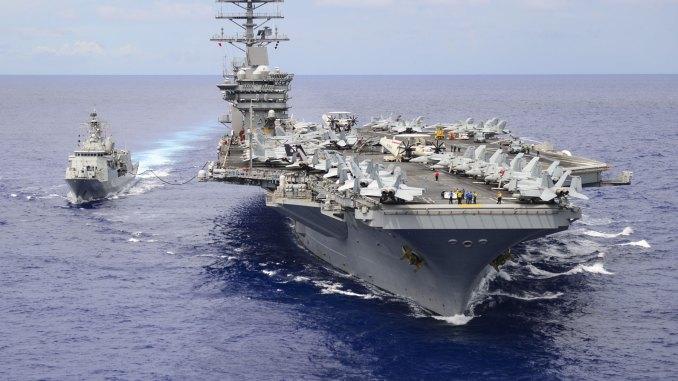 حاملة طائرات USS Nimitz الأميركية
