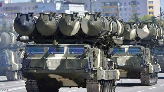 منظومة صواريخ روسية