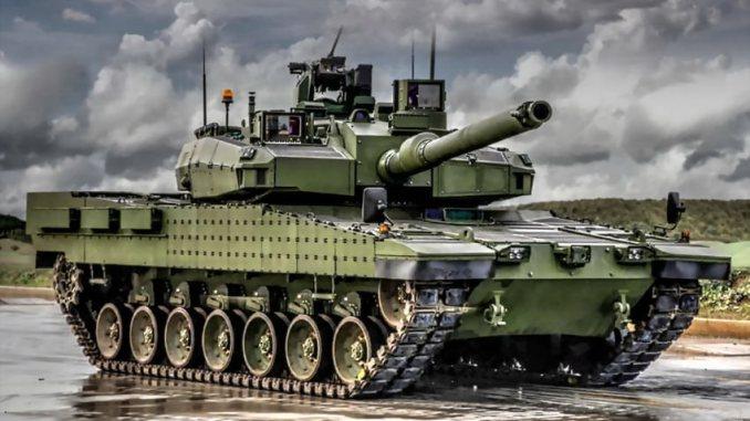 دبابة ألتاي التركية