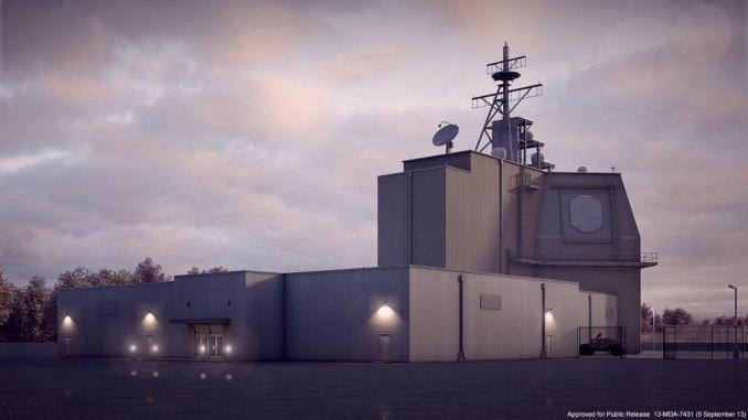 """منظومة """"أيجيس آشور"""" للدفاع الصاروخي في رومانيا (Commander, U.S. Naval Forces Europe-Africa/U.S. 6th Fleet- Flickr)"""