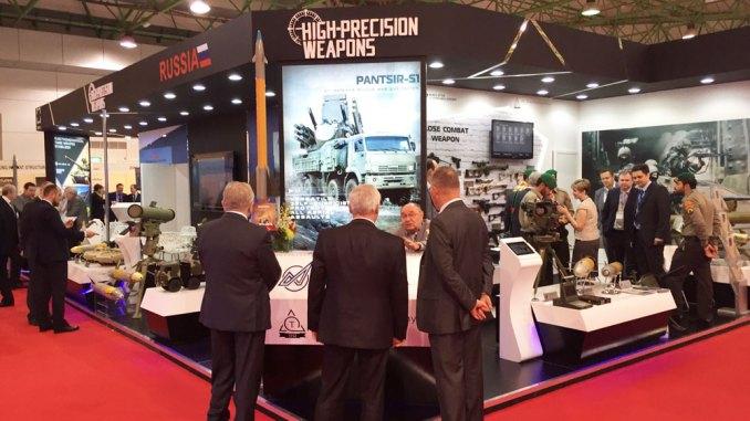 منصة عرض الأسلحة الروسية في GDA 2015