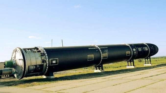 """صاروخ """"فويفودا"""" الاستراتيجي"""