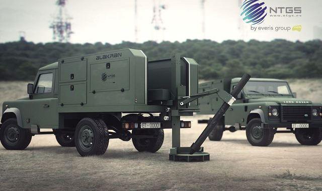 """نظام هاون الخفيف من نوع """"ألاكران"""" إسباني الصنع من إنتاج شركة NTGS الخاص بالمركبات التكتيكية الخفيفة (NTGS)"""